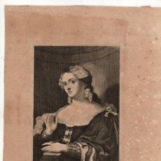 Arte: GRABADO PALMA SENIOR. LUCAS VORSTERMAN. C. 1660. Lote 235092780