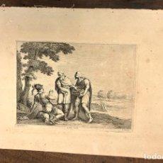 Arte: GRABADO A. SCHIAUONE. Q. BOEL. C. 1660. Lote 235095050
