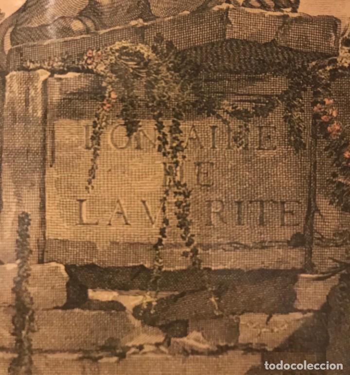 """Arte: GRABADO DE GAILLARD L´AGREABLE LEÇON """"La agradable lección"""" , CUADRO DE FRANÇOIS BOUCHER 1748 - Foto 11 - 235202120"""