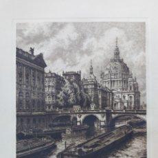 Art: VISTAS DE BERLIN ( GRABADO ). Lote 235232055