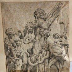 Arte: ANDREAS VACARIUS AÑO 1606 GRABADOR FRANCÉS , SIGLO XVI. Lote 235408385