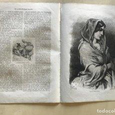 Arte: LABRADORES Y MUJER DE VALENCIA (ESPAÑA), HACIA 1870. GUSTAVE DORÉ/SALVIONI. Lote 235655125