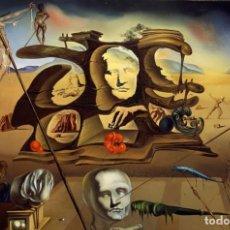 Arte: IMPRESIONANTE GRABADO DALI,NARIZ DE NAPOLEÓN,TRANSFORMADA EN UNA MUJER,FIRMADO Y NUMERADO,50 X 65 CM. Lote 235693455