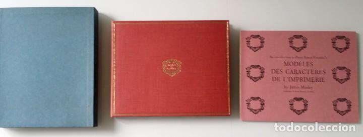 Arte: FOURNIER: MODELES DES CARACTERES DE LIMPRIMERIE, 1965 - Foto 2 - 235810355