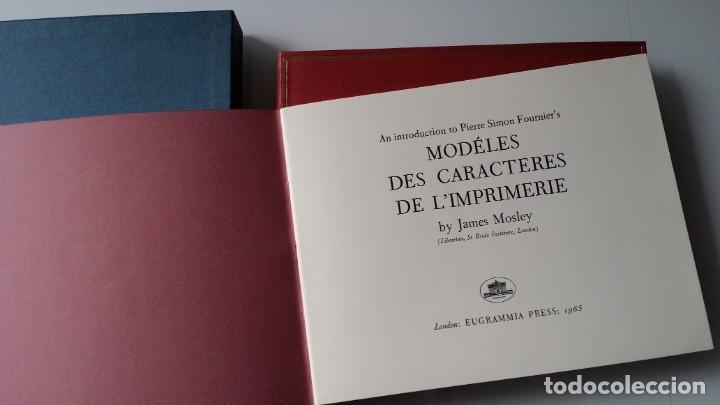FOURNIER: MODELES DES CARACTERES DE L'IMPRIMERIE, 1965 (Arte - Grabados - Contemporáneos siglo XX)