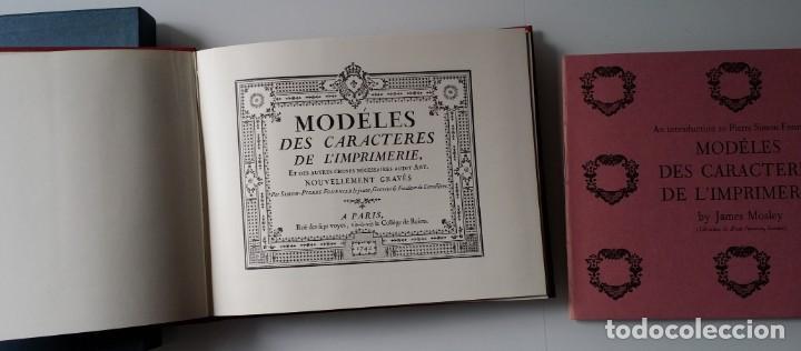 Arte: FOURNIER: MODELES DES CARACTERES DE LIMPRIMERIE, 1965 - Foto 8 - 235810355