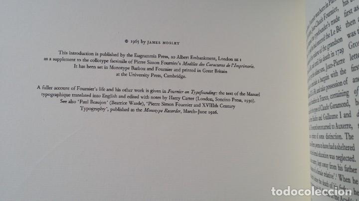 Arte: FOURNIER: MODELES DES CARACTERES DE LIMPRIMERIE, 1965 - Foto 23 - 235810355