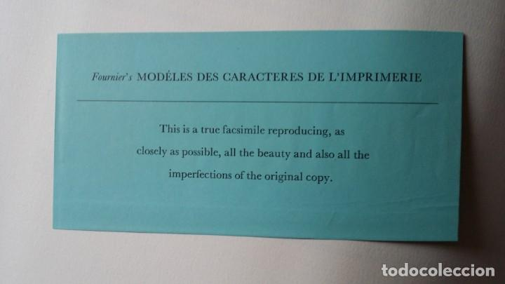 Arte: FOURNIER: MODELES DES CARACTERES DE LIMPRIMERIE, 1965 - Foto 20 - 235810355