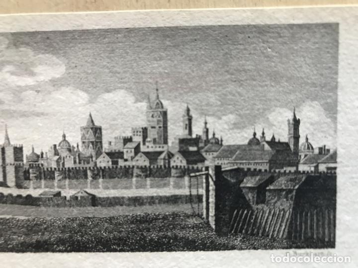 Arte: Vista panorámica de la ciudad de Valencia (España), hacia 1850. D. Burkhart - Foto 5 - 236005875