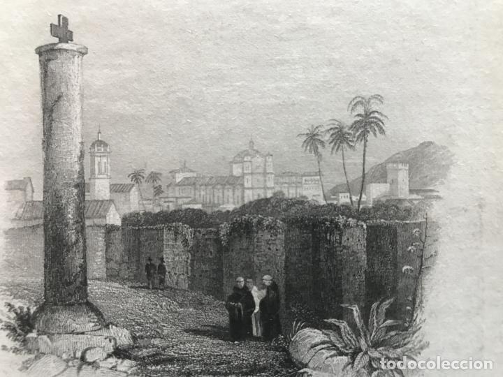 Arte: Vista parcial de la ciudad de Córdoba (España), hacia 1850. Greswick/Finden - Foto 4 - 236146060