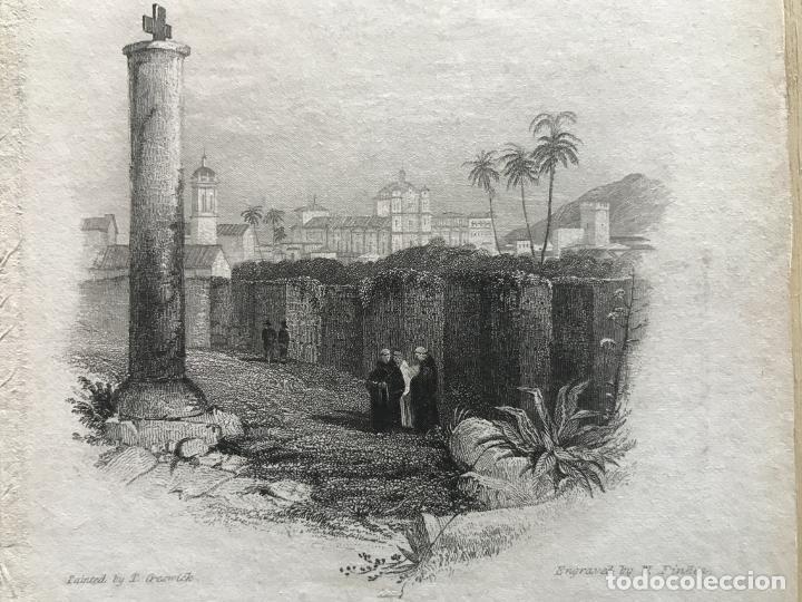 VISTA PARCIAL DE LA CIUDAD DE CÓRDOBA (ESPAÑA), HACIA 1850. GRESWICK/FINDEN (Arte - Grabados - Modernos siglo XIX)
