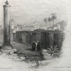 Arte: VISTA PARCIAL DE LA CIUDAD DE CÓRDOBA (ESPAÑA), HACIA 1850. GRESWICK/FINDEN. Lote 236146060