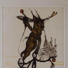 Arte: ZUSH - ALBERT PORTA: OSUNDRO, AGUAFUERTE, 1994. Lote 236154240