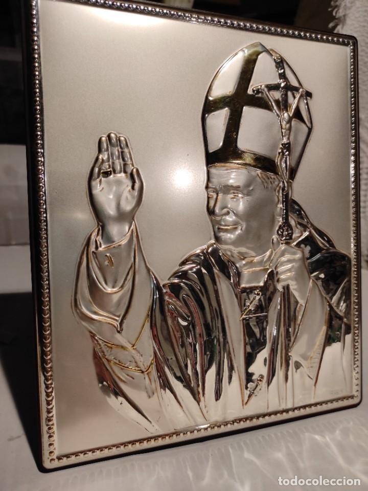 Arte: Grabado Juan Pablo II - Foto 2 - 236206840