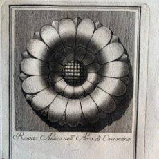Arte: ROSONE ANTICO NELL ARCO DI CONSTANTINO. CARLO ANTONINI. 1777. Lote 236736715