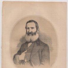 Arte: LITOGRAFÍA. AÑO 1870. CARLOS LA TORRE (TORO, ZAMORA, 1799 - MADRID, 1851). ACTOR. Lote 236744475