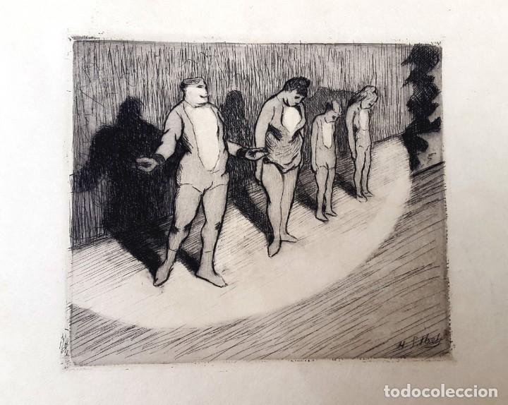 CIRCO - HENRI-GABRIEL IBELS - GRABADO - AGUAFUERTE (Arte - Grabados - Modernos siglo XIX)