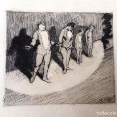 Arte: CIRCO - HENRI-GABRIEL IBELS - GRABADO - AGUAFUERTE. Lote 237105635