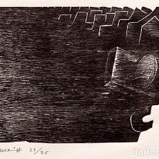 Arte: AGUSTIN IBARROLA - AGUAFUERTE - 23/75. Lote 237111685