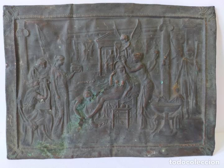 GRABADO EN HUECO -LA TOILETTE DE HELENE- AÑO 1906 (Arte - Grabados - Contemporáneos siglo XX)