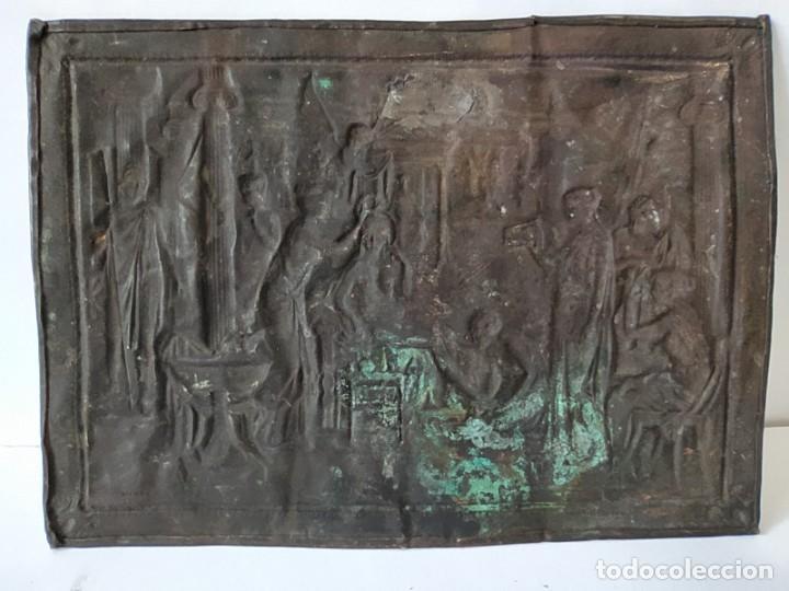 Arte: GRABADO EN HUECO -LA TOILETTE DE HELENE- AÑO 1906 - Foto 13 - 237378845
