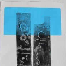 Arte: FJ CASTILLO MÁLAGA 1961. GRABADO GOFRADO DE 49,7X 35,5.PC.MUY BUEN ESTADO.PAPEL FABRIANO 270G.. Lote 238026585