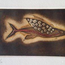 Arte: ZUSH - ALBERT PORTA: PESNIA, AGUAFUERTE, 1992. Lote 238083640