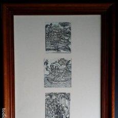 Arte: 3 XILOGRAFÍAS DE J. GRÜNINGER, DECAMERON DE BOCCACCIO, 1507. Lote 186218112