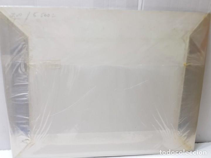 Arte: Grabado antiguo en marco de carton Dame Blanche - Foto 4 - 238321140