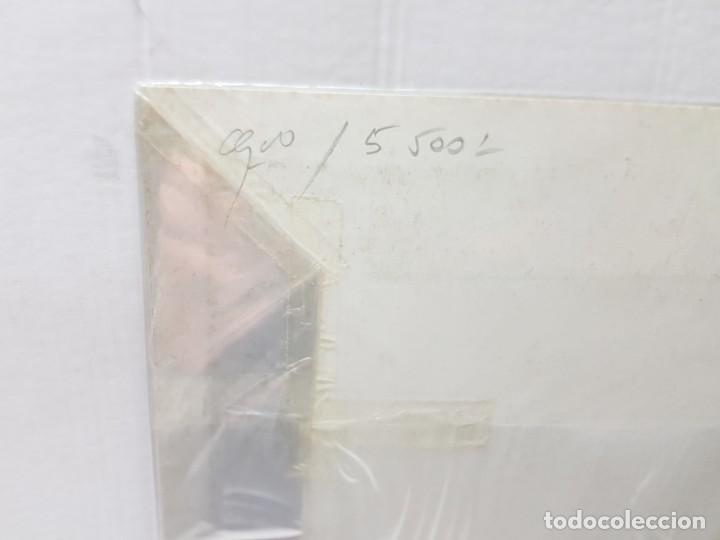 Arte: Grabado antiguo en marco de carton Dame Blanche - Foto 5 - 238321140