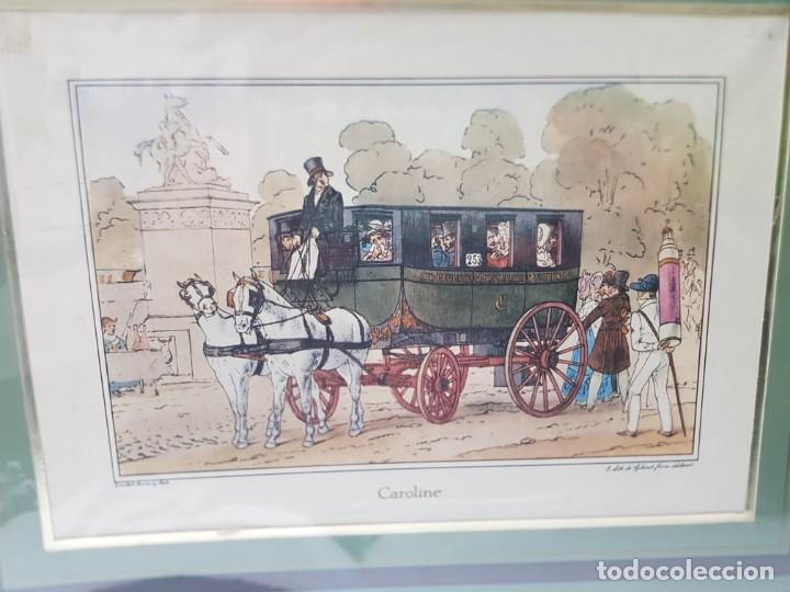 Arte: Grabado antiguo en marco de carton Caroline - Foto 2 - 238321940