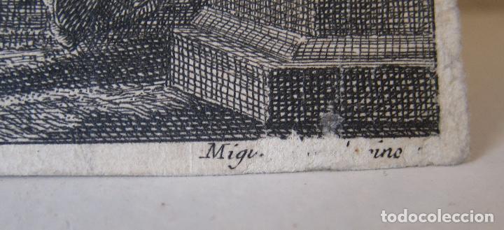 Arte: Miguel Gamborino, 2 estampas del Via Crucis, según dibujos de Vicente López. HACIA 1800. - Foto 3 - 238405960