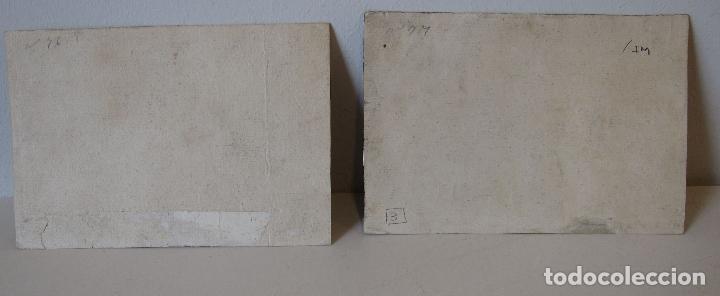 Arte: Miguel Gamborino, 2 estampas del Via Crucis, según dibujos de Vicente López. HACIA 1800. - Foto 9 - 238405960