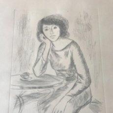 Arte: GRABADO DE MORATO ARAGONÉS FIRMADO Y NUMERADO A LÁPIZ 94/100.. Lote 238739360