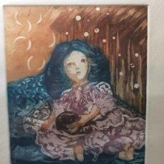 Arte: ESPECTACULAR GRABADO AL COBRE NUMERADO Y FIRMADO N SCOTT ACABADO A MANO. Lote 238843165