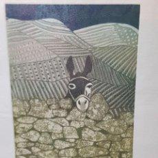 Arte: ESPECTACULAR GRABADO AL COBRE NUMERADO Y FIRMADO F.ALVAREZ ACABADO A MANO. Lote 238843900