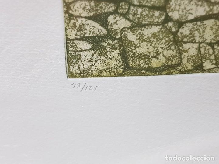 Arte: Espectacular Grabado al cobre numerado y firmado F.Alvarez acabado a mano - Foto 3 - 238843900