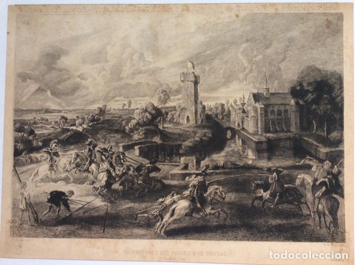 GRABADO ORIGINAL (Arte - Grabados - Antiguos hasta el siglo XVIII)