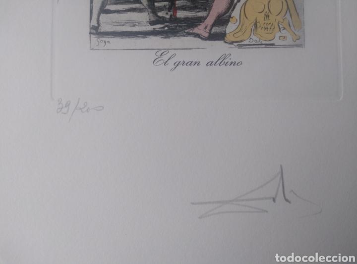 Arte: LOS CAPRICHOS DE GOYA DE DALI, 1977 - Foto 2 - 26565587