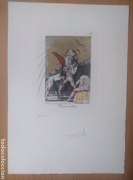 Arte: LOS CAPRICHOS DE GOYA DE DALI, 1977 - Foto 4 - 26565587