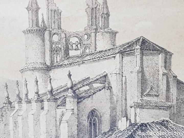 Arte: Grabado antiguo grande Fiestas Medievales - Foto 3 - 239937810