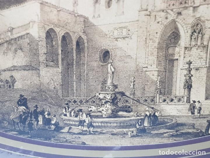 Arte: Grabado antiguo grande Notre Dame - Foto 4 - 239938125
