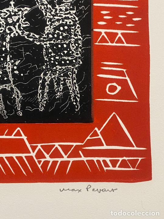 Arte: Max Papart , Odisee , aguafuerte firmado a lápiz , edición de 75 ejemplares , etching - Foto 3 - 240494020