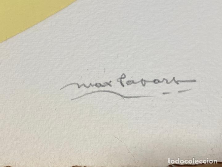 Arte: Max Papart , Piano Blues , profile de femme , carborundum , edición de 95 ejemplares , etching - Foto 2 - 240506590