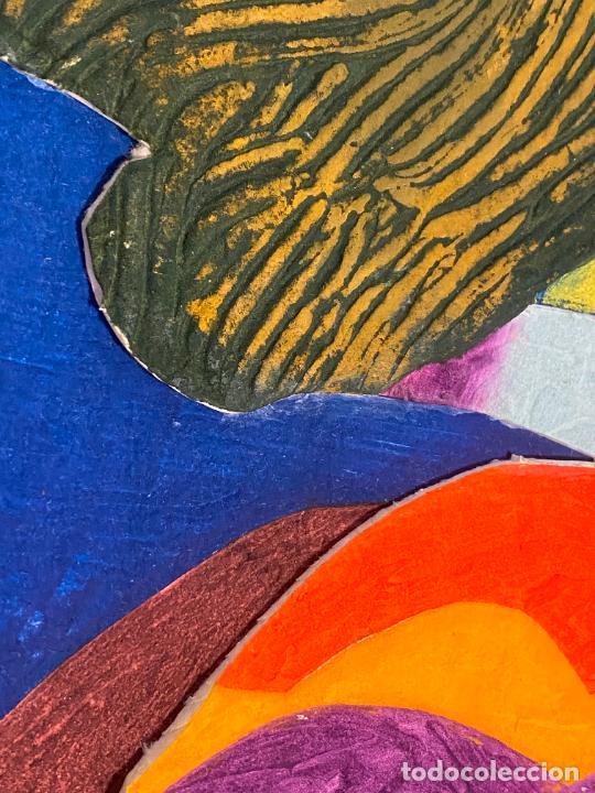 Arte: Max Papart , Piano Blues , profile de femme , carborundum , edición de 95 ejemplares , etching - Foto 4 - 240506590