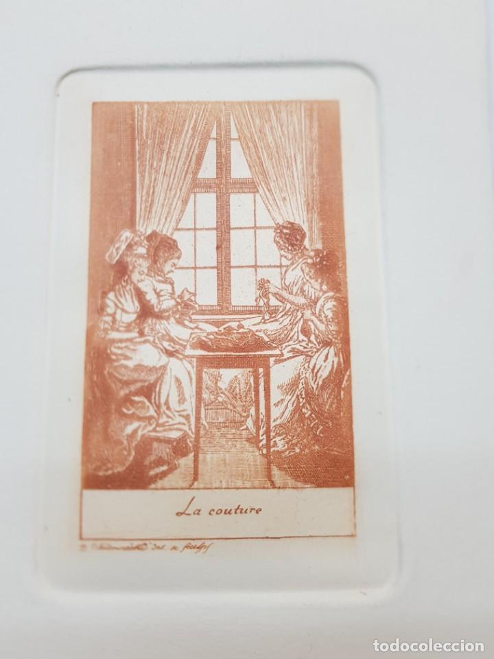Arte: Grabados antiguos al Cobre Franceses lote 6 - Foto 2 - 240512285