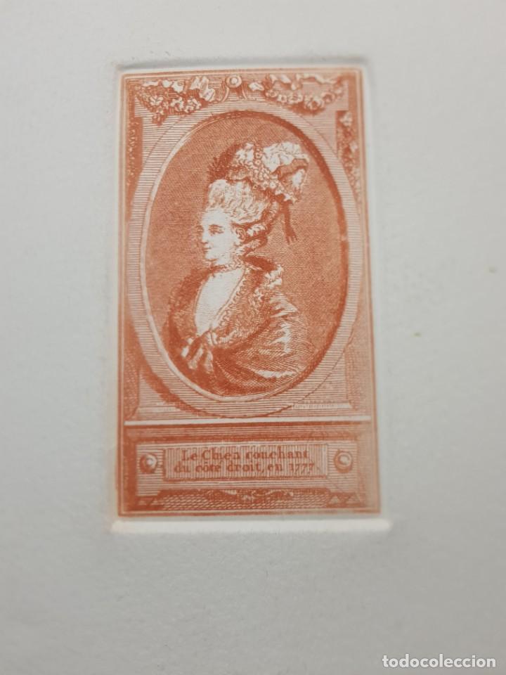 Arte: Grabados antiguos al Cobre Franceses lote 6 - Foto 3 - 240512285