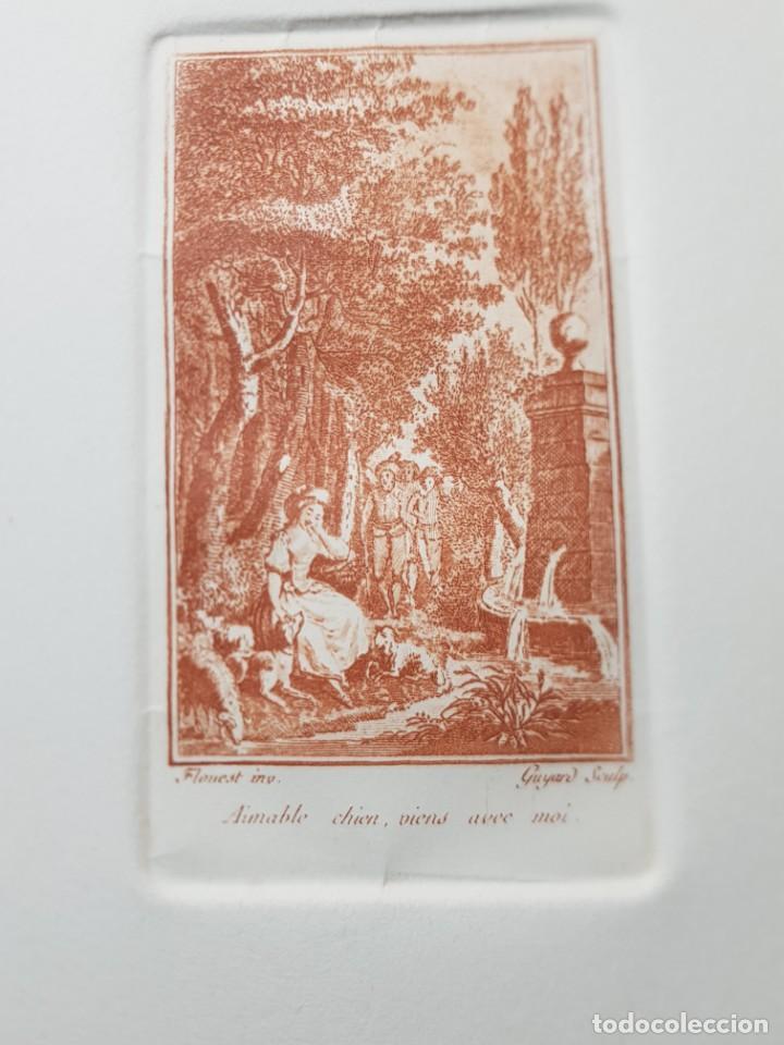 Arte: Grabados antiguos al Cobre Franceses lote 6 - Foto 5 - 240512285