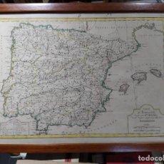 Arte: GRABADO FRANCÉS DE LA PENÍNSULA IBÉRICA. FINALES SIGLO XVIII. 43X37 CM. CON MARCO. Lote 240576780
