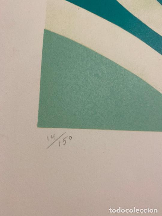 Arte: Max Papart , Sportif 2 , litografia firmada a lápiz , edición de 150 ejemplares , - Foto 4 - 240624170